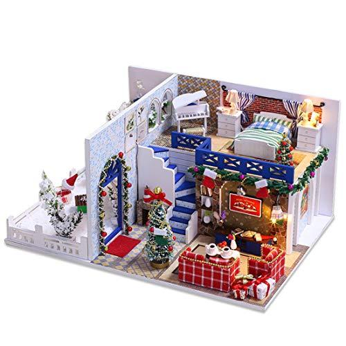Miniature avec des Meubles De Maison De Poupée, Kit DIY...