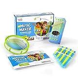 hand2mind Science Kit Music Maker, STEM Activities for Kids Ages 5-7, STEM Toys, Kids Storybook, Pan Flute,...