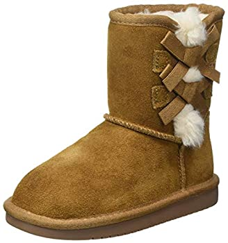 Koolaburra by UGG girls Victoria Short Fashion Boot Chestnut 9 Toddler US