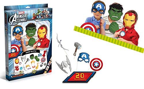 Canal Toys - CT22001 - Avengers - Appareil Photo Numérique - Selfie Booth - Kit de Photo Délire