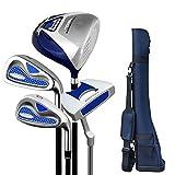 HHTX Club de Golf para Hombres y Mujeres Putter de Golf Práctica Completa Juego de Palos de Golf Ejercitador de Poste Semi-Set Juego de Principiantes de Golf Club de Golf para Hombres y Mujeres (