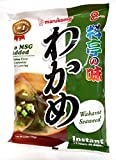 Marukome Instant Miso Soup with Wakame Seaweed, 8 servings 156g, Misosuppe mit Seetang
