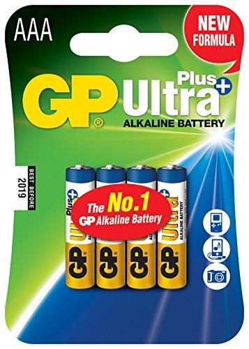 GP Akku Alkaline (AAA, Micro, LR 03, 1,5V)