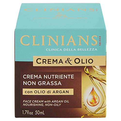 CLINIANS Crema&olio Élément nutritif Non Graisse Soins de la peau 50 ml