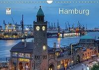 Hamburg (Wandkalender 2022 DIN A4 quer): Eine fotografische Reise durch das abendliche Hamburg (Monatskalender, 14 Seiten )