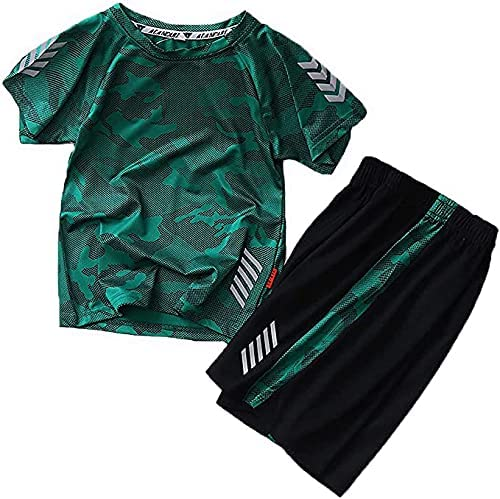 Jellyuu Boys Summer Clothing Sets Kids Set Cash special price Camouflage Sho List price Outfit