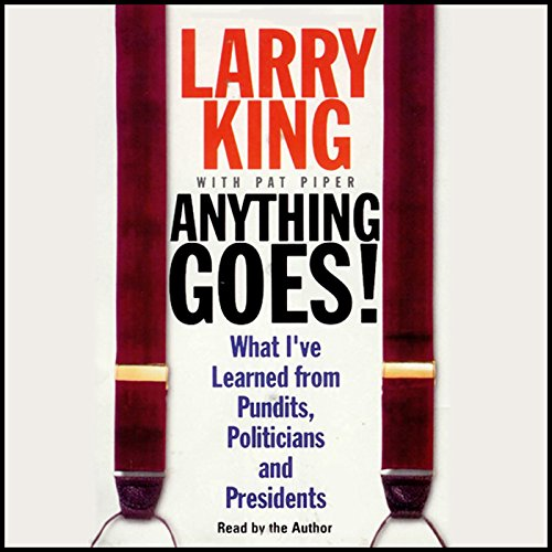 Anything Goes! audiobook cover art