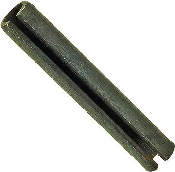 6 x 30-100 Stk Spannstift geschlitzt schwere Ausf/ührung ISO 8752 Federstahl bl