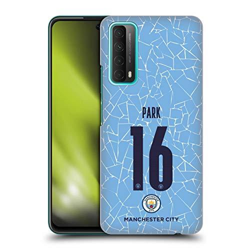 Head Case Designs sous Licence Officielle Manchester City Man City FC Jess Park 2020/21 Home Kit des Femmes Groupe 2 Coque Dure pour l'arrière Compatible avec Huawei P Smart (2021)