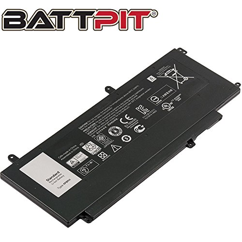 BattPit Laptop Battery for Dell 4P8PH Inspiron 15-7547, 15-7548 only - [7568mAh/56Wh]