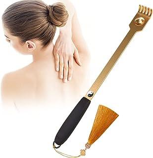 Nskongdodo Retro Style Back Scratcher:Rose Gold Handmade Metal(Durable,Skin Friendly,Mildew Proof,Anti ing,Distinctive)
