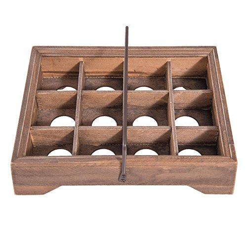 Clayre & Eef 6H1569 Porte-œufs 23 x 18 x 11 cm