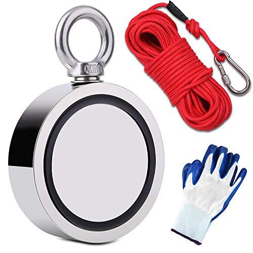 500 lb Capacity Underwater Magnet for Treasure Hunting Fishing Magnet