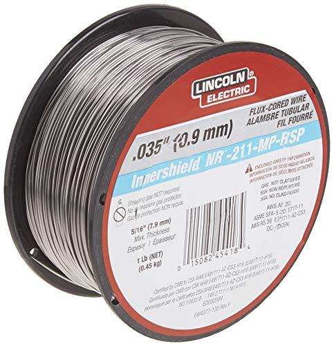 Lincoln Electric ED030584, alambre de soldadura MIG, NR-211-MP.035, bobina