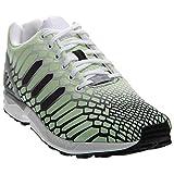 adidas ZX Flux, Footwear White/Core Black/Lgsogr, 10