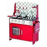 Tidlo T-0148 - Kleine rustikale Küche, Haushaltsspielzeug