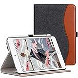 Ztotop-Hülle für das Neue iPad Mini 5 2019, dünnes, schlankes Premium-PU-Lederetui für iPad Mini 2019 7,9 Zoll mit automatischer Schlaf- / Weckfunktion & Stiftschlitz, Multi-Angle, Denim Schwarz