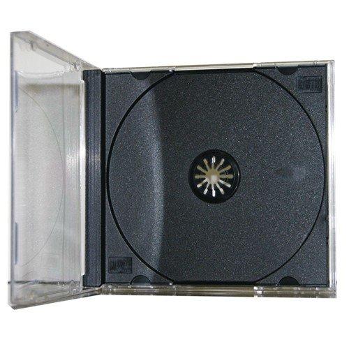 25 CD Jewel Case (montiert) STANDARD Schwarz