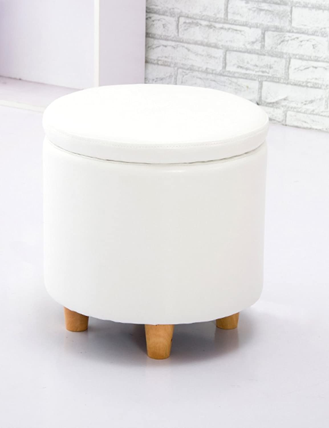 ZHANGRONG- Sofa Stool Storage Sofa Stool Fashion shoes for Stool shoes Cabinet Stool shoes Leather Stool Creative Dressing Sofa Stool (color Optional) (color    4)