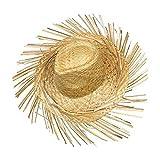 Schramm® Chapeau de Paille Hawaii avec Franges Chapeau de Paille Hawaii Party