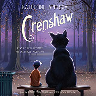 Crenshaw audiobook cover art
