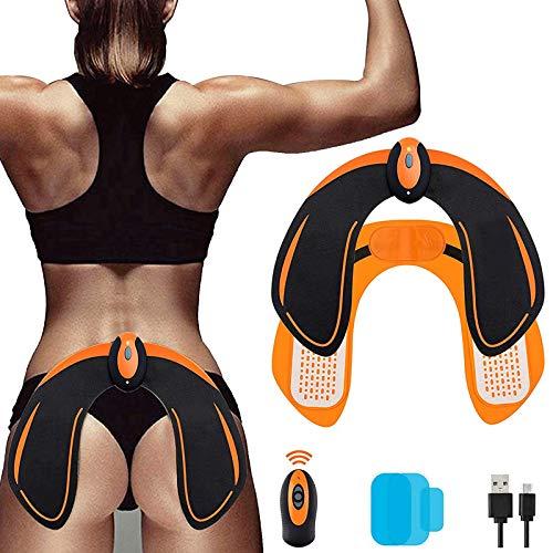 Electroestimulador Muscular Gluteos,EMS Electroestimulador Gluteos,Estimulador Muscular Ejercitar Gluteos USB Recargable(Hombre y Mujer)