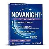 Novanight Tripla Azione Integratore Alimentare con...