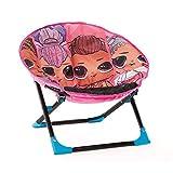 L.O.L. Surprise! Remix Plush, Folding Moon Chair for Kids