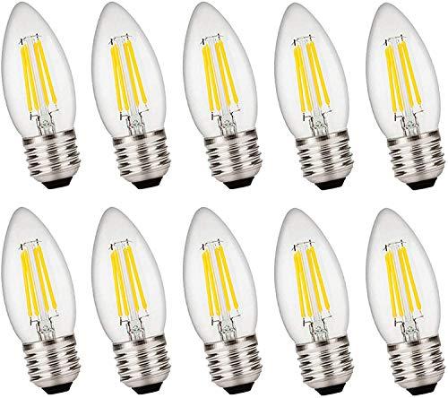 YQGOO Bombillas LED G12 de 20 W, Blanco cálido 2000LM no, Bombilla LED Tipo maíz - Bombilla LED G12 Regulable, Paquete de 10