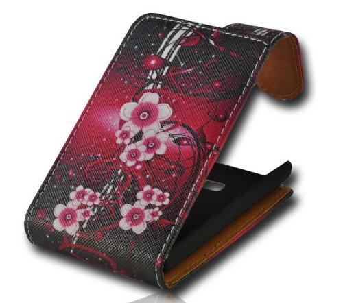 Handy Tasche Hülle Flip für LG E400 Optimus L3 / Handytasche Hülle Etui Schutzhülle JS M29