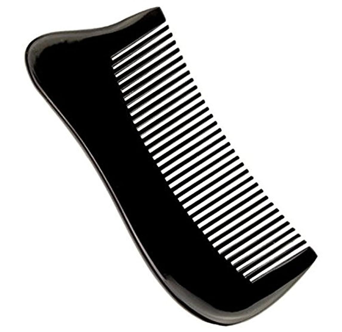 帳面病核櫛型 プロも使う牛角かっさプレート マサージ用 血行改善 高級 天然 静電気防止 美髪 美顔 ボディ リンパマッサージ