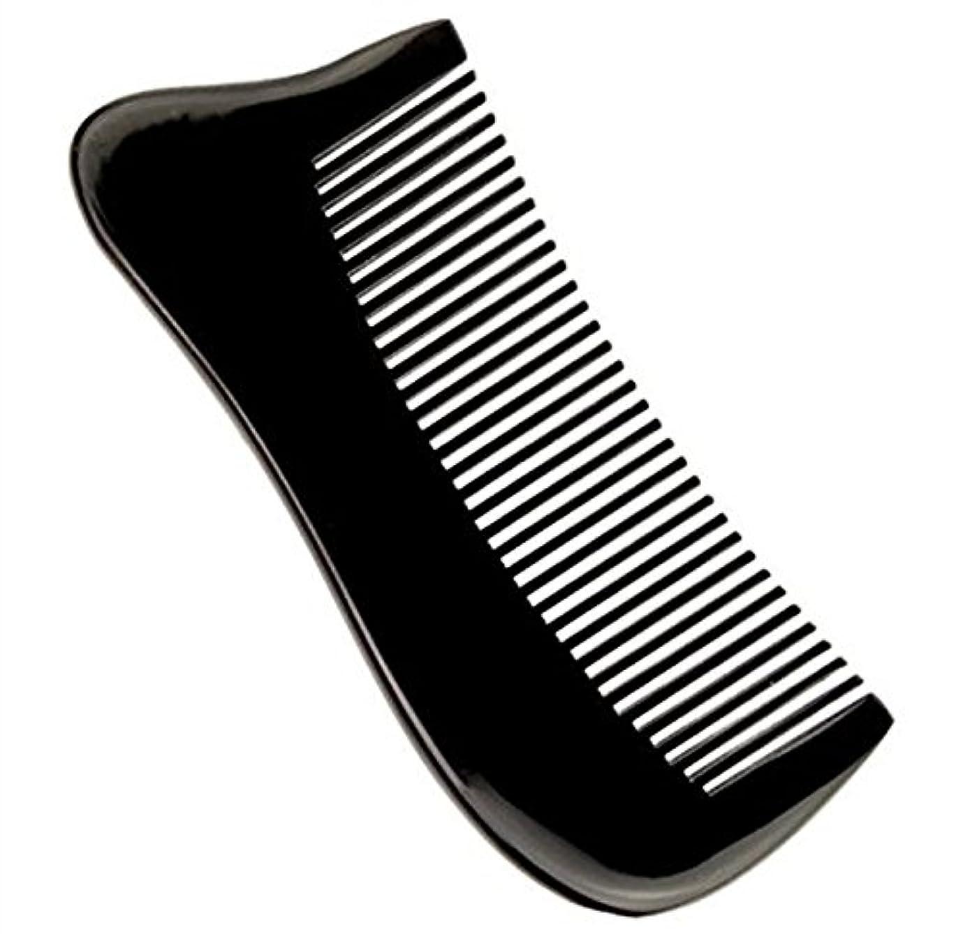 選択する隣人チケット櫛型 プロも使う牛角かっさプレート マサージ用 血行改善 高級 天然 静電気防止 美髪 美顔 ボディ リンパマッサージ