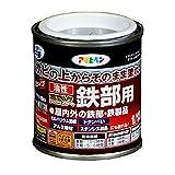 アサヒペン 油性高耐久鉄部用 白 1/12L