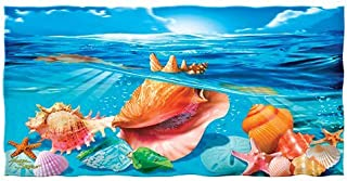 Seashells Cotton Beach Towel
