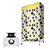 Portable Clothing Dryer 1000W Heater, Portable Clothes Dryer for Apartments, Home & Dorms