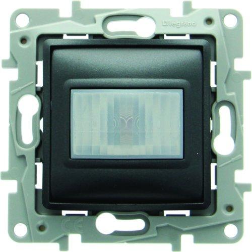 Legrand LEG96640 Niloé - Detector de movimiento, color negro