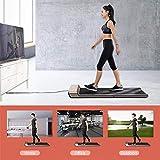 Ritapreaty KINGSMITH Walking Pad A1 Machine de Marche Pliable, Silencieux, Salle de Sport Confortable, contrôle de la Vitesse de détection d'empreinte
