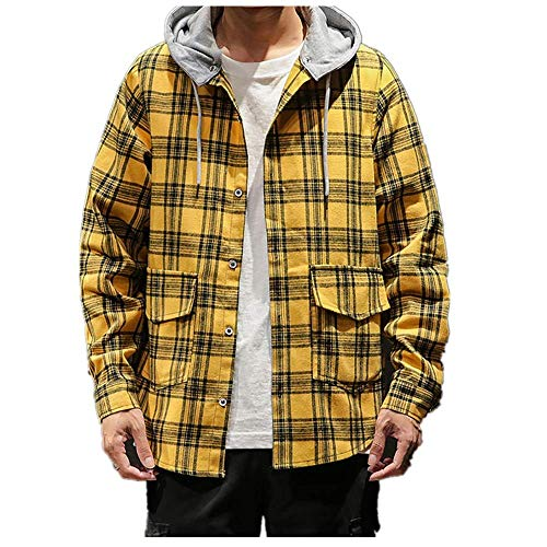 Review Of Mens Flannel Jacket Zip Up Fleece Hoodie Big & Tall Sherpa Heavy Lined Shirt