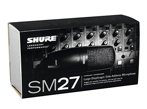シュアー SHURE SM27-SC-X コンデンサー型マイクロホン ワイヤレスマイク