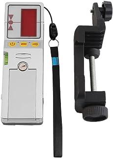 レーザーレベル検出器 レーザーレベル検出器 レーザーリーム受信機 クランプ付き ロッドマウント・ハンドヘルド兼用 最大検出範囲 水平35M 垂直20M 高精度 使用便利 小型 軽量(FD-9レッド)