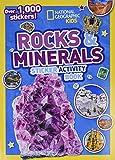 Rocks and Minerals Sticker Activity Book
