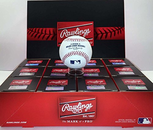 Rawlings Official Major League Leather Game Baseballs from (One Dozen)