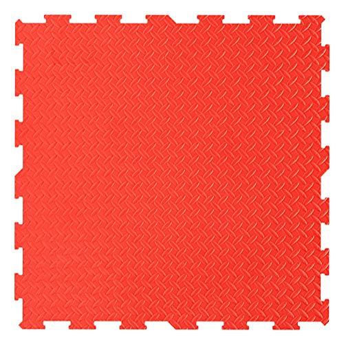 WUZMING-Tapis Puzzle En Mousse Doux Tuiles Imbriquées Ménage Plancher De Mousse Bébé Rampant Tapis De Jeu for Enfants, 8 Couleurs (Color : Red, Size : 30X30X1.0cm-49pcs)