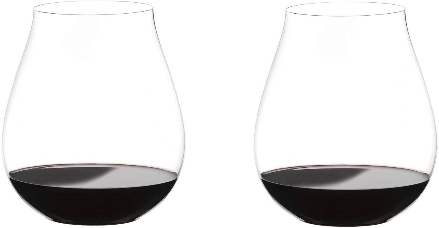 Riedel Big O Wine Tumbler Pinot Set Of 2