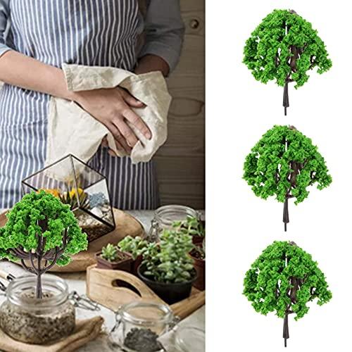 Eulbevoli Simulationsbaum, 3PCS Miniaturbaum für handgefertigte Materialien