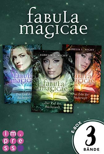 Fabula Magicae: Alle Bände der Reihe in einer E-Box!: Fantasy-Liebesroman für Fans von Elfen und Feen, die in die magische Welt der Bücher eintauchen wollen