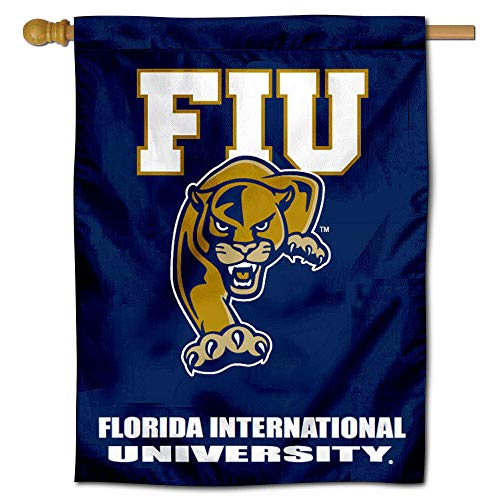 Florida International Panthers House Flag Banner