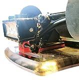 Electric Skateboard, E Longboard Headlight & Tail Light Night Rider Riser Mount Kit Utilizing an ActionCam Mounting Bracket