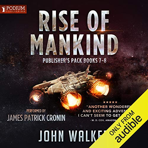 Rise of Mankind, Books 7-8 cover art