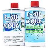 Prochima Fe034G800 e 30 Effetto Acqua A+B, Resina Epossidica Trasparente, 800 Gr